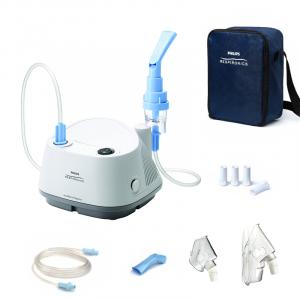 Aparat aerosoli cu compresor Philips Respironics InnoSpire Elegance,  MMAD 2.90 μm, Operare Continua, Sistem Active Venturi1