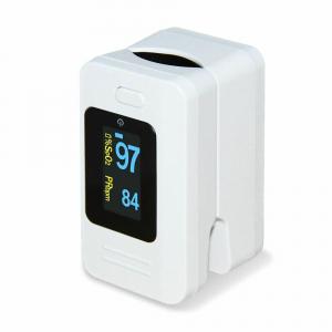 Pulsoximetru Contec CMS50D4, indica nivelul de saturatie a oxigenului din sange, masoara rata pulsului, Alb0