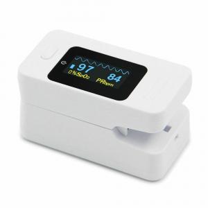 Pulsoximetru Contec CMS50D4, indica nivelul de saturatie a oxigenului din sange, masoara rata pulsului, Alb2
