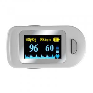 Pulsoximetru RedLine FS20C, alb, indica nivelul de saturatie a oxigenului, masoara rata pulsului1