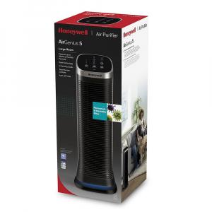 Purificator de aer Honeywell Air Genius 5, filtru reutilizabil, 5 moduri de filtrare, Negru3