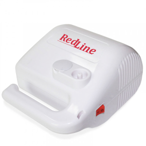 Aparat aerosoli RedLine NB-315 PRO, cu compresor, MMAD variabil 2.44 si 4µm, furtun de 2 si 6 m3