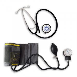 Tensiometru mecanic Little Doctor LD 71 profesional, stetoscop inclus, manometru din metal, husa de transport2