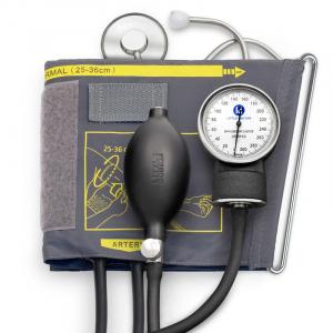 Tensiometru mecanic Little Doctor LD 71 profesional, stetoscop inclus, manometru din metal, husa de transport0