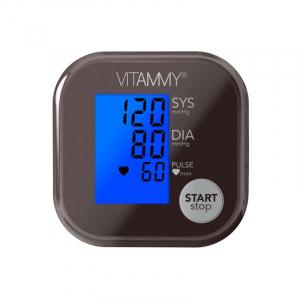 Tensiometru electronic de brat VITAMMY Ultra Beat, manseta 22-42 cm, Chocolate/Metalic [1]
