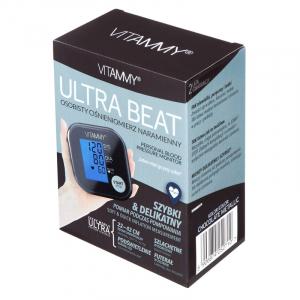 Tensiometru electronic de brat VITAMMY Ultra Beat, manseta 22-42 cm, Chocolate/Metalic [3]