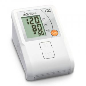 Tensiometru de brat Little Doctor LD2, semiautomat, afisaj LCD, memorare 90 de valori, alb1