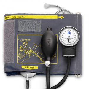 Tensiometru mecanic Little Doctor LD 60, stetoscop atasat, manseta 33-46 cm, manometru din metal0