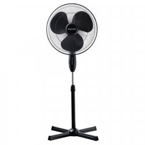 Ventilator cu picior Honeywell HSF1630E, 3 viteze, inaltime reglabila 110 - 122 cm, Negru1