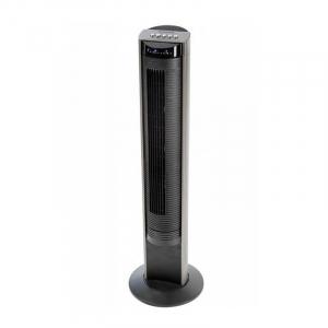 Ventilator turn Honeywell HO-5500RE, panou de control cu telecomanda in carcasa, 103,6 cm, 3 programe, Negru1