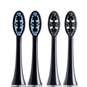 Set 4 rezerve periuta de dinti VITAMMY Pearl+ Noire0