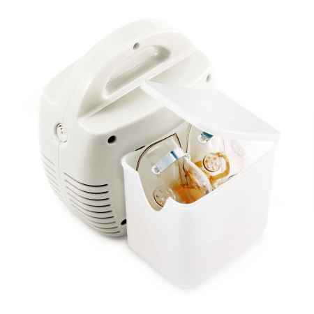 Aparat aerosoli cu compresor Little Doctor LD 211 C, cutie pentru accesorii, 3 dispensere, 3 masti [2]