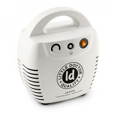 Aparat aerosoli cu compresor Little Doctor LD 211 C, cutie pentru accesorii, 3 dispensere, 3 masti [1]