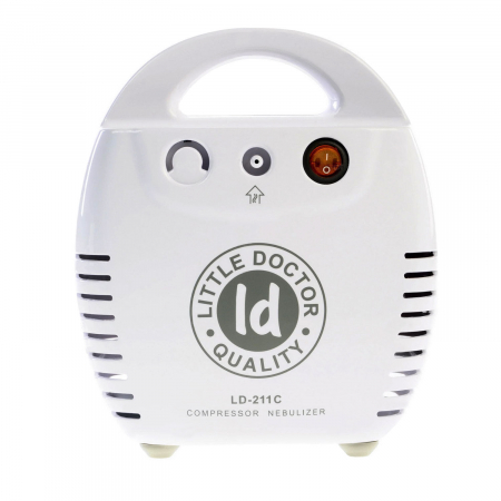 Aparat aerosoli cu compresor Little Doctor LD 211 C, cutie pentru accesorii, 3 dispensere, 3 masti [3]