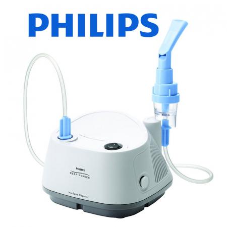 Aparat aerosoli cu compresor Philips Respironics InnoSpire Elegance,  MMAD 2.90 μm, Operare Continua, Sistem Active Venturi4
