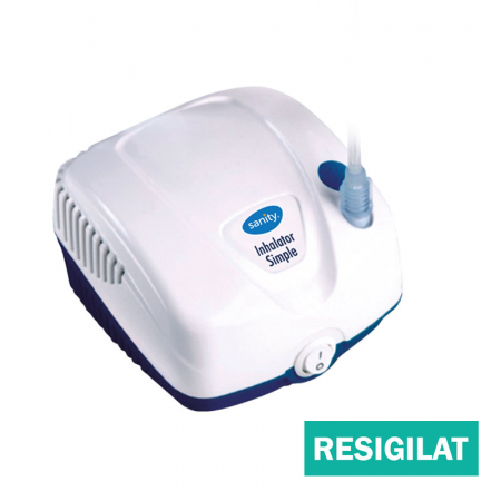 Aparat aerosoli Sanity  Inhaler Simple, resigilat, cu accesorii noi [0]