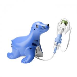 Aparat aerosoli cu compresor Philips Respironics Sami the Seal, MMAD 2.80μm, Design preferat de copii, Sistem Active Venturi, Profesional0