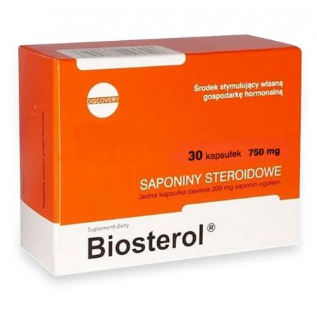 Capsule Megabol Biosterol 750 mg 30 caps, anabolizant puternic, saponine naturale ce cresc nivelul de testosteron liber [0]