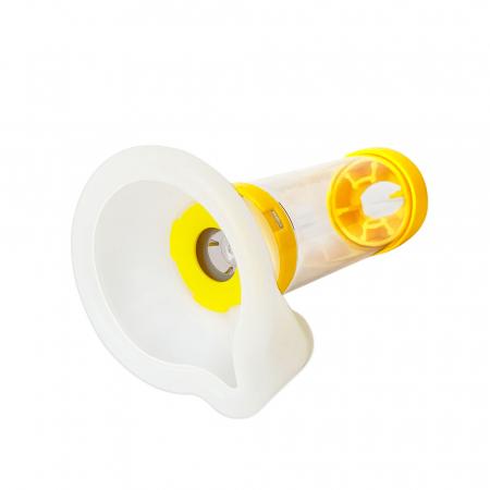 Camera inhalare Breath Chamber cu masca medie, 7-14 ani, faciliteaza tratamentul cu inhalatoare [2]
