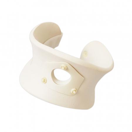 Colar cervical marimea M cu orificiu traheal, circumferinta gat 35 - 45 cm2