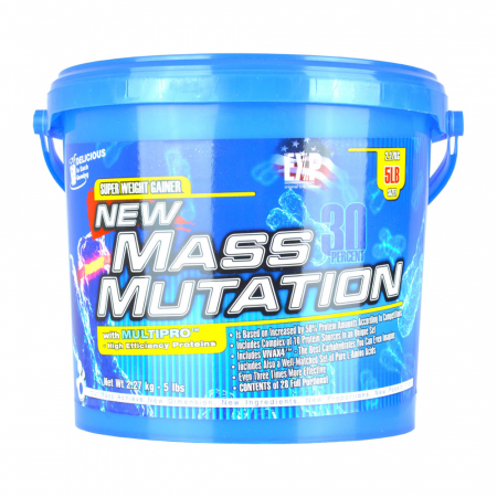 Complex de proteine Megabol NEW MASS MUTATION 2270g, pentru cresterea masei musculare, 10 surse de proteine, aminoacizi si carbohidrati complecsi [3]