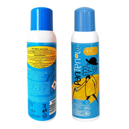 Crema spuma Sanity PanTenol 10% si Alantonina, 150 ml [4]