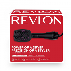 Perie electrica de par REVLON One-Step Hair Dryer & Styler, RVDR5212E2, ionizare, 2 trepte de temperatura2