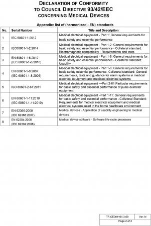 Pulsoximetru profesional Contec CMS60D, senzor adulti si senzor pediatric [6]