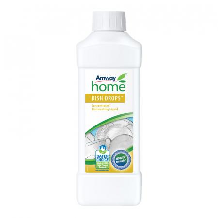 Detergent lichid concentrat pentru vase DISH DROPS, 1L [0]