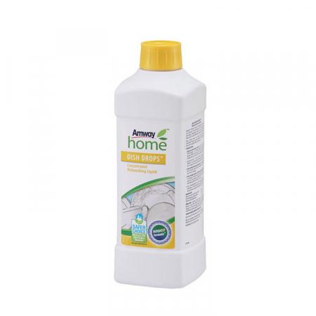 Detergent lichid concentrat pentru vase DISH DROPS, 1L [1]