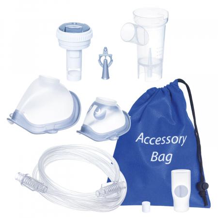 Aparat aerosoli FLAEM 4NEB, nebulizator profesional cu compresor, 4 moduri de nebulizare, reglarea particulelor [3]