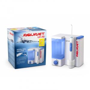 Irigator bucal Little Doctor Aquajet LD A8 pentru adulti, profesional, 1200 impulsuri/min, 4 duze incluse, alb2