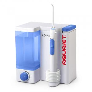 Irigator bucal Little Doctor Aquajet LD A8 pentru adulti, profesional, 1200 impulsuri/min, 4 duze incluse, alb0