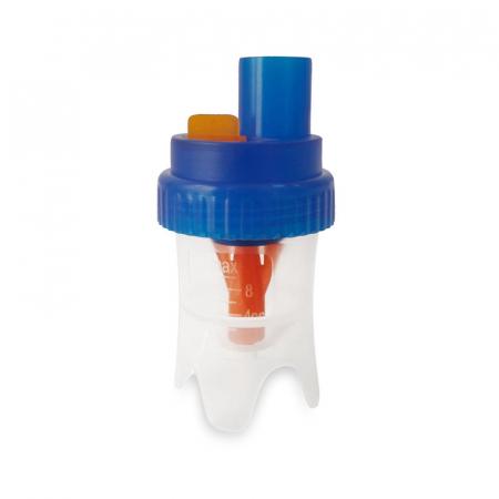 Kit accesorii universale RedLine Combo pentru aparatele de aerosoli cu compresor, 2 pahare de nebulizare, furtun 6m si 2m [2]