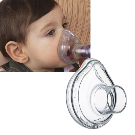 Masca mica LiteTouch Philips Respironics, 0 - 18 luni, pentru Philips Optichamber [3]