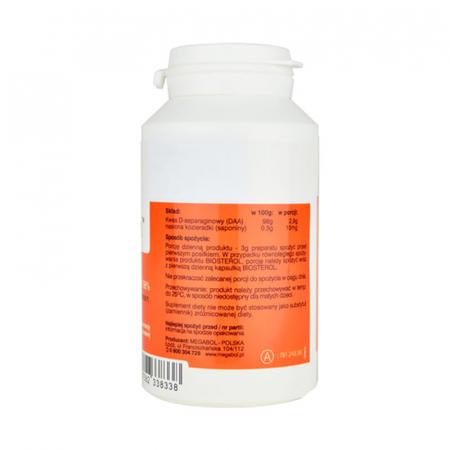 Pachet Megabol DAA-stin 90 g plus Biosterol 750 mg 30 cps [2]