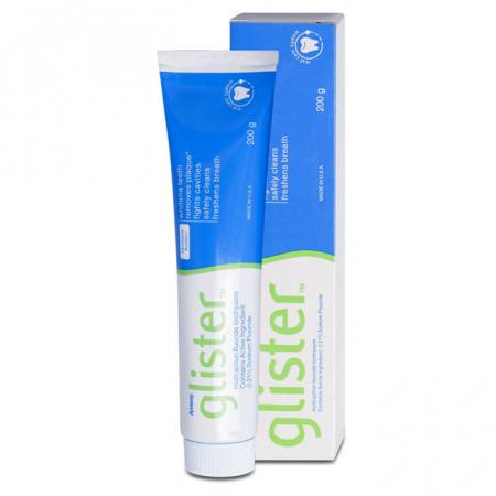 Pasta de dinti cu fluoruri Glister, 150 ml [2]