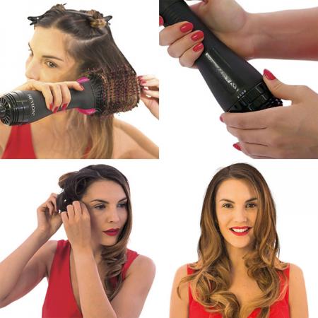 Perie electrica fixa REVLON One-Step Hair Dryer & Volumizer, RVDR5222E2, pentru par mediu si lung [4]