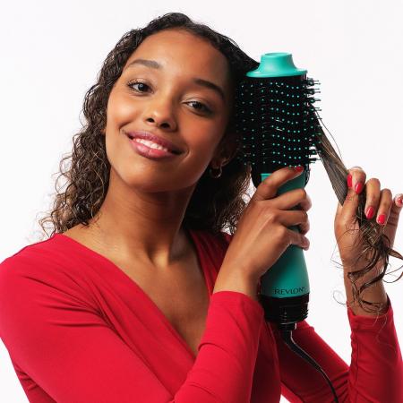 Perie electrica fixa REVLON One-Step Hair Dryer & Volumizer, RVDR5222TE TEAL [7]