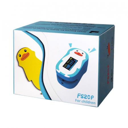 Pulsoximetru RedLine FS20P, pentru copii 2-12 ani, roz, Indica nivelul de saturatie a oxigenului din sange, Masoara rata pulsului [5]