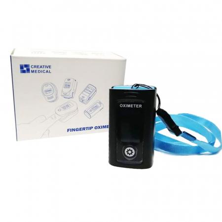 Pulsoximetru Vitammy Creative PC60A, indica nivelul de saturatie a oxigenului, masoara rata pulsului, Negru [3]