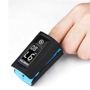 Pulsoximetru Vitammy Creative PC60A, indica nivelul de saturatie a oxigenului, masoara rata pulsului, Negru [2]
