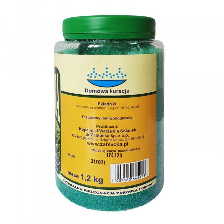 Sare termala SPA iodine-bromine Zablocka pentru baie, 1,2 kg [2]