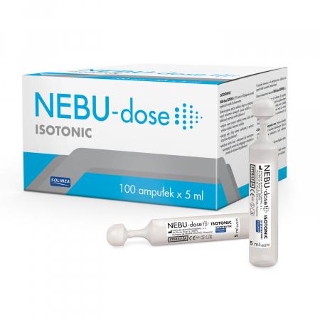 Ser fiziologic izotonic Solinea NEBU-dose concentratie 0.9%, 100 monodoze x 5 ml [0]