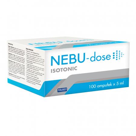 Ser fiziologic izotonic Solinea NEBU-dose concentratie 0.9%, 100 monodoze x 5 ml [4]
