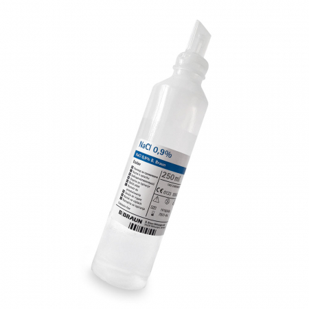 Ser fiziologic NaCl 0.9%, solutie sterila pentru irigare, 250 ml [1]