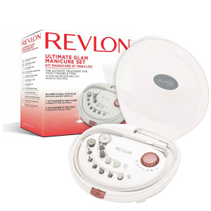 Set manichiura-pedichiura freza electrica REVLON Pro Collection Ultimate Glam RVSP3526E, Alb1