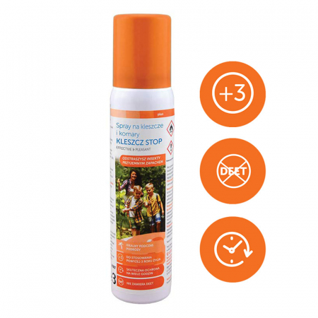 Spray impotriva tantarilor si capuselor Sanity Stop, pentru copii de la 3 ani, 100 ml4