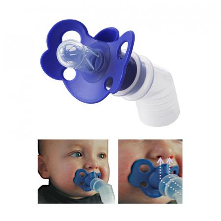 Suzeta inhalator RedLine Bebe Neb pentru aparatele de aerosoli cu compresor, pentru nou-nascuti si bebelusi2