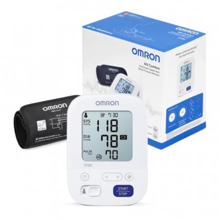 Tensiometru electronic de brat Omron M3 Comfort, HEM-7155-E, manseta Intelli Wrap 22 - 42 cm2